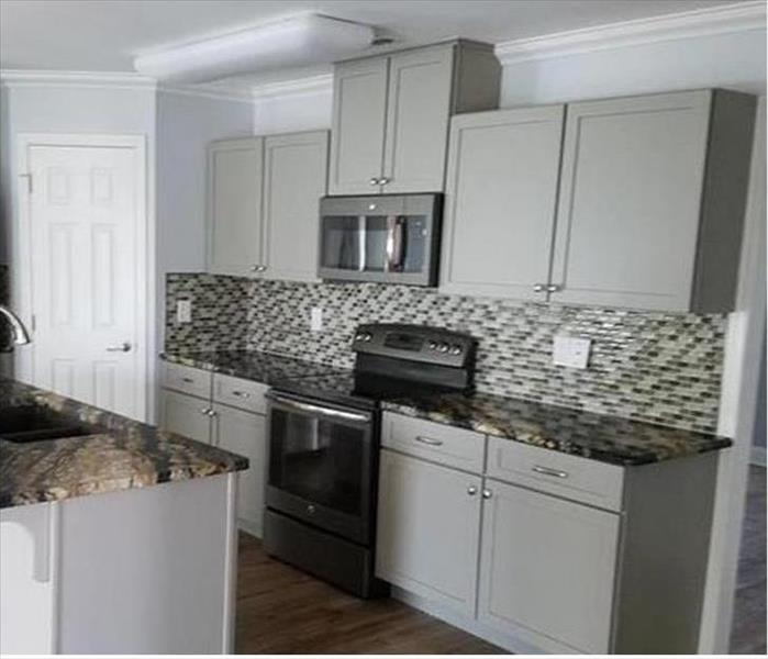 brand new kitchen fixtures and backsplash