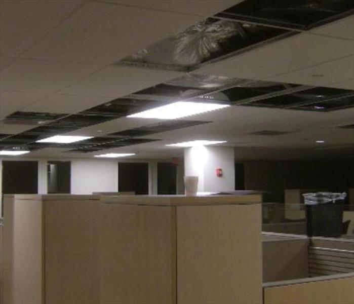 Water Damage to a Manhattan Office